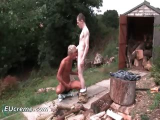 outdoor homosexual sex with joe bondi part9